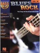 Hal Leonard Bass Play Along vol.18: Blues Rock (book/CD)