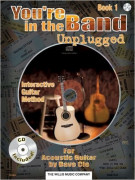 You're in the Band - Unplugged Guitar Book 1 (book/CD)