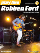 Play like Robben Ford (book/Audio Access)