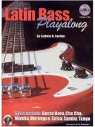 Latin Bass Playalong (book/2 CD)