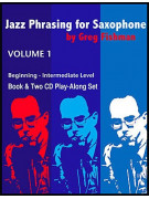 Jazz Phrasing for Beginners (book/2 CD play-along)
