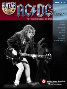 Guitar Play-Along Volume 119: AC/DC Classics (book/CD)