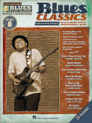Blues Play-Along Volume 8: Blues Classics (book/CD)