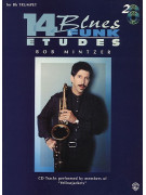 14 Blues & Funk Etudes for Trumpet (book/ 2 CD play-along)