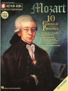 Jazz Play-Along Volume 159: Mozart (book/CD)