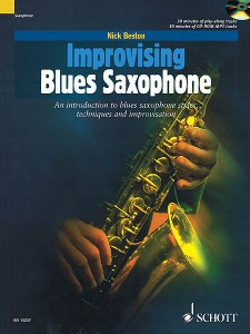 Improvising Blues Saxophone (book/CD)