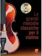 Le grandi melodie classiche per il violino (libro/CD)