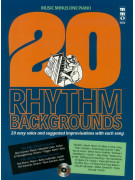 MMO 3052: 20 Rhythm Backgrounds for Piano (sheet/CD play-along)