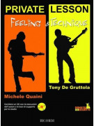 Feeling & Technique per chitarra rock (libro/CD)