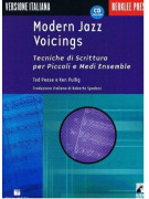 Modern Jazz Voicings: Tecniche di Scrittura per Piccoli e Medi Ensemble (libro/CD)