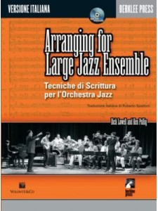 Arranging For Large Jazz Ensemble (Libro/CD)