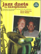 Jazz Duets for Saxophones (book & CD play-along)