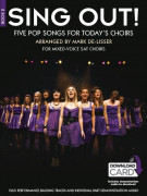 Sing Out! 5 Pop Songs For Today's Choirs - Book 2 (book/2 CD)