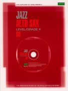 Jazz Alto Sax Level 4 (booklet/CD play-along)