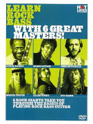 Learn Rock Bass With 6 Great Masters (DVD)