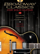 Broadway Classics for Solo Guitar (book/CD)