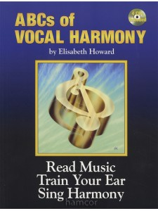 ABCs of Vocal Harmony  (book/4 CD)