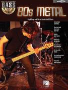 Bass Play-Along Volume 16 - 80s Metal (book/CD)