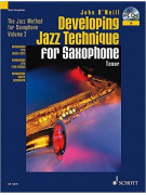 Developing Jazz Technique for Sax (book/CD)