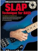Progressive Slap Technique for Bass Guitar (book/CD)