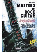 Masters of Rock Guitar (book/CD)