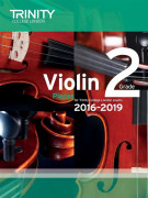 Trinity College London: Violin Exam Pieces - Grade 2 - 2016-2019