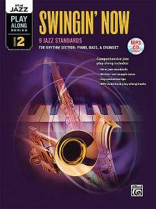 Jazz Play-Along Vol.2: Swingin' Now - Rhythm Section (book/CD MP3)