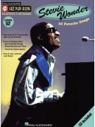 Jazz Play-Along Vol. 52: Stevie Wonder (book/CD)
