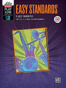Jazz Play-Along Volume 2: Easy Standards (book/CD)