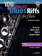 100 Ultimate Blues Riffs For Flute - Beginner Series (book/CD)