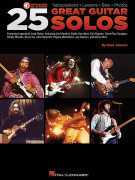25 Great Guitar Solos (book/CD)