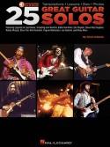 25 Great Guitar Solos (book/CD)
