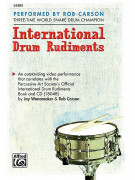International Drum Rudiments (book/CD)
