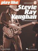 Play like Stevie Ray Vaughan (book/Audio Online)