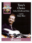 Tony Rice - Tony's Choice (book/CD)