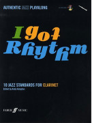 I got Rhythm for Clarinet (book/CD play-along)
