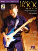 Famous Rock Guitar Solos (book/CD)