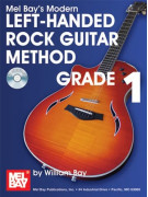 Left-Handed Rock Guitar Method Grade 1 (book/CD)