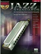 Jazz Standards: Harmonica Play-Along Volume 14 (book/CD)