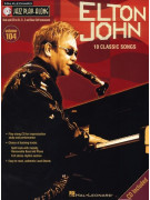 Jazz Play-Along Volume 104: Elton John (book/CD)