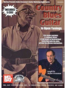 Country Blues Guitar In Open Tunings (book/3 CD)