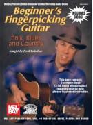 Beginner's Fingerpicking Guitar: Folk, Blues & Country (book/3 CD)