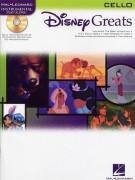 Disney Greats - Cello (book/CD play-along)