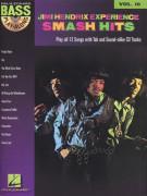 Jimi Hendrix: Bass  Play-Along Vol.10 (book/CD