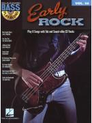 Early Rock: Bass Play-Along Volume 30 (book/CD)
