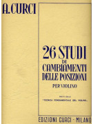 26 Studi di cambiamenti delle posizioni (violino)