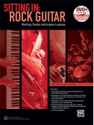 Sitting In: Rock Guitar (book/DVD)