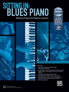Sitting In: Blues Piano (book/DVD)