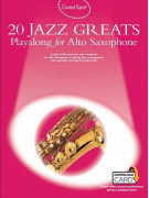 Guest Spot: 20 Jazz Greats Playalong For Alto Saxophone (book/2 CD)