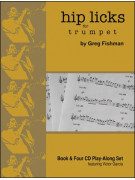 Hip Licks For Trumpet (book/4 CD)